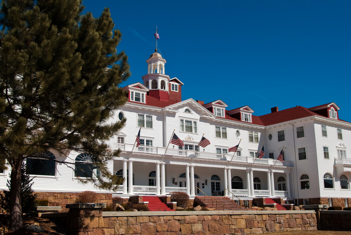 A view of the Stanley Hotel